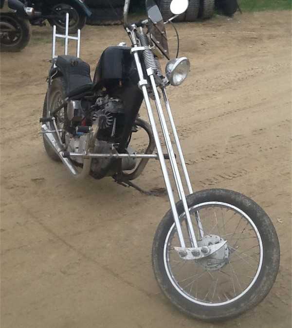 1969 Bonneville chopper